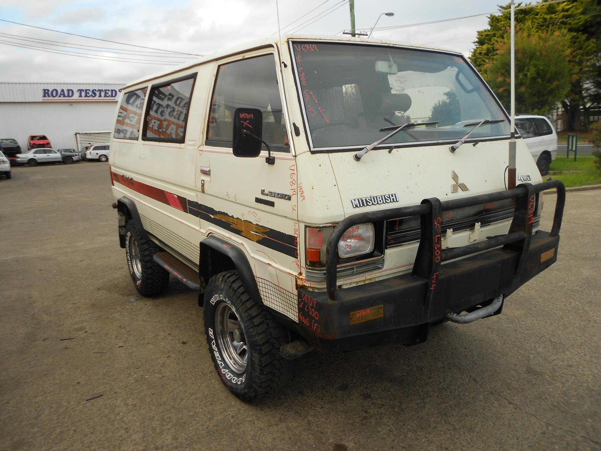 Mitsubishi 1983 SC L300 4x4 2.6 Litre Manual Van Rear Bull